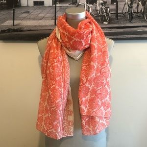 Camieu | Red Patterned Scarf